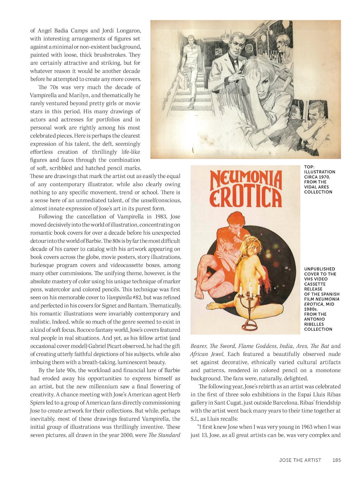 Read online The Art of Jose Gonzalez comic -  Issue # TPB (Part 2) - 87