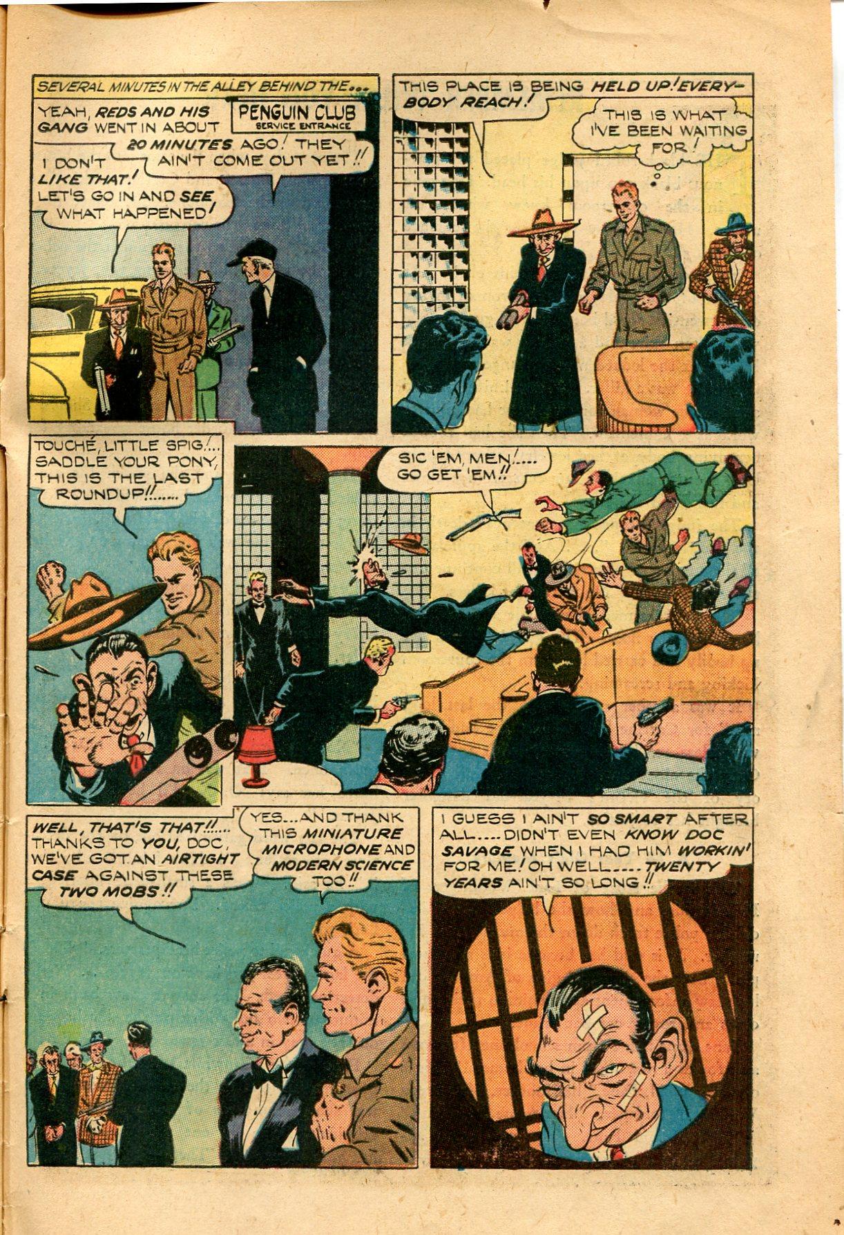 Read online Shadow Comics comic -  Issue #82 - 47