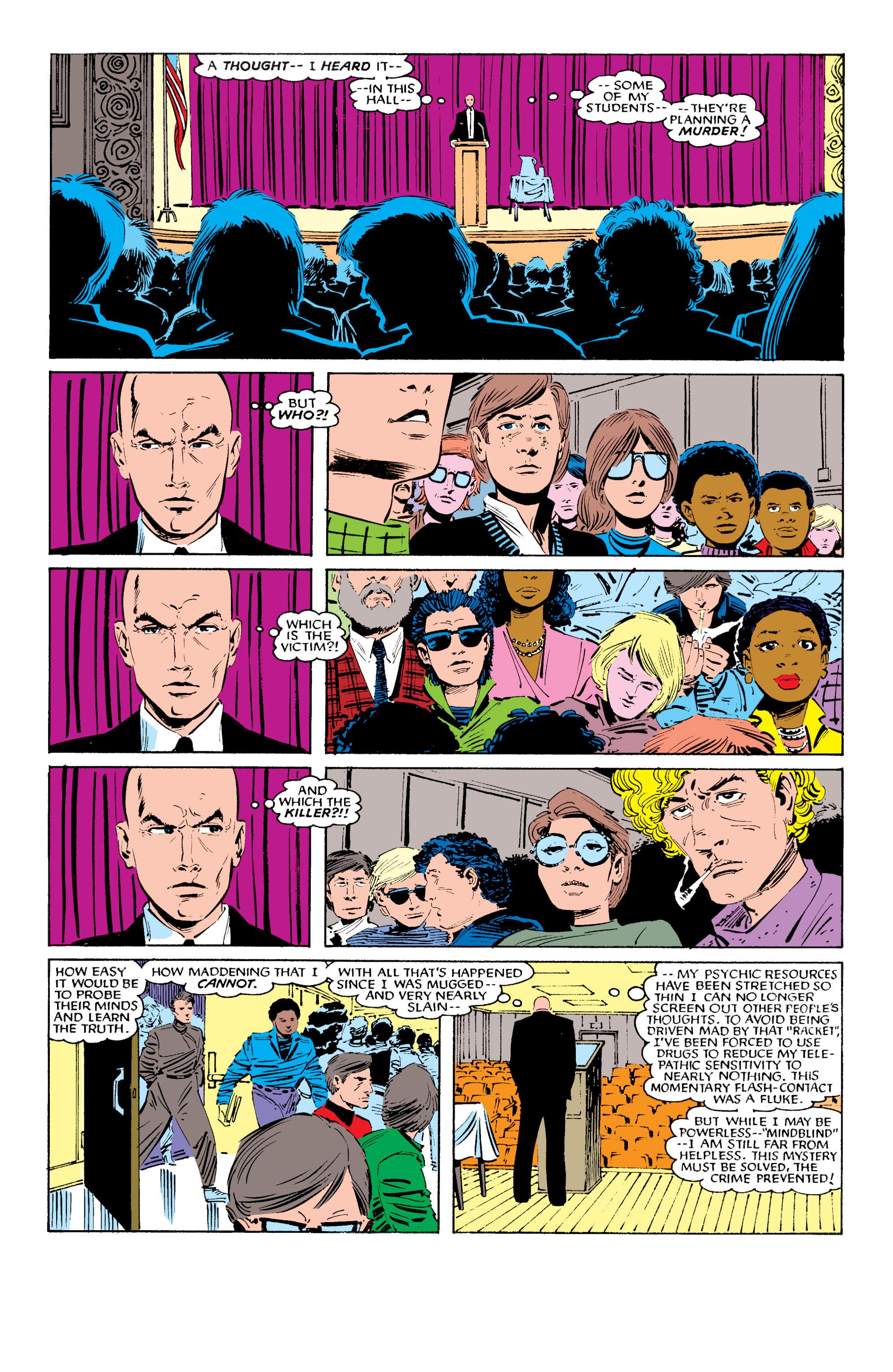 Read online Uncanny X-Men (1963) comic -  Issue #196 - 3