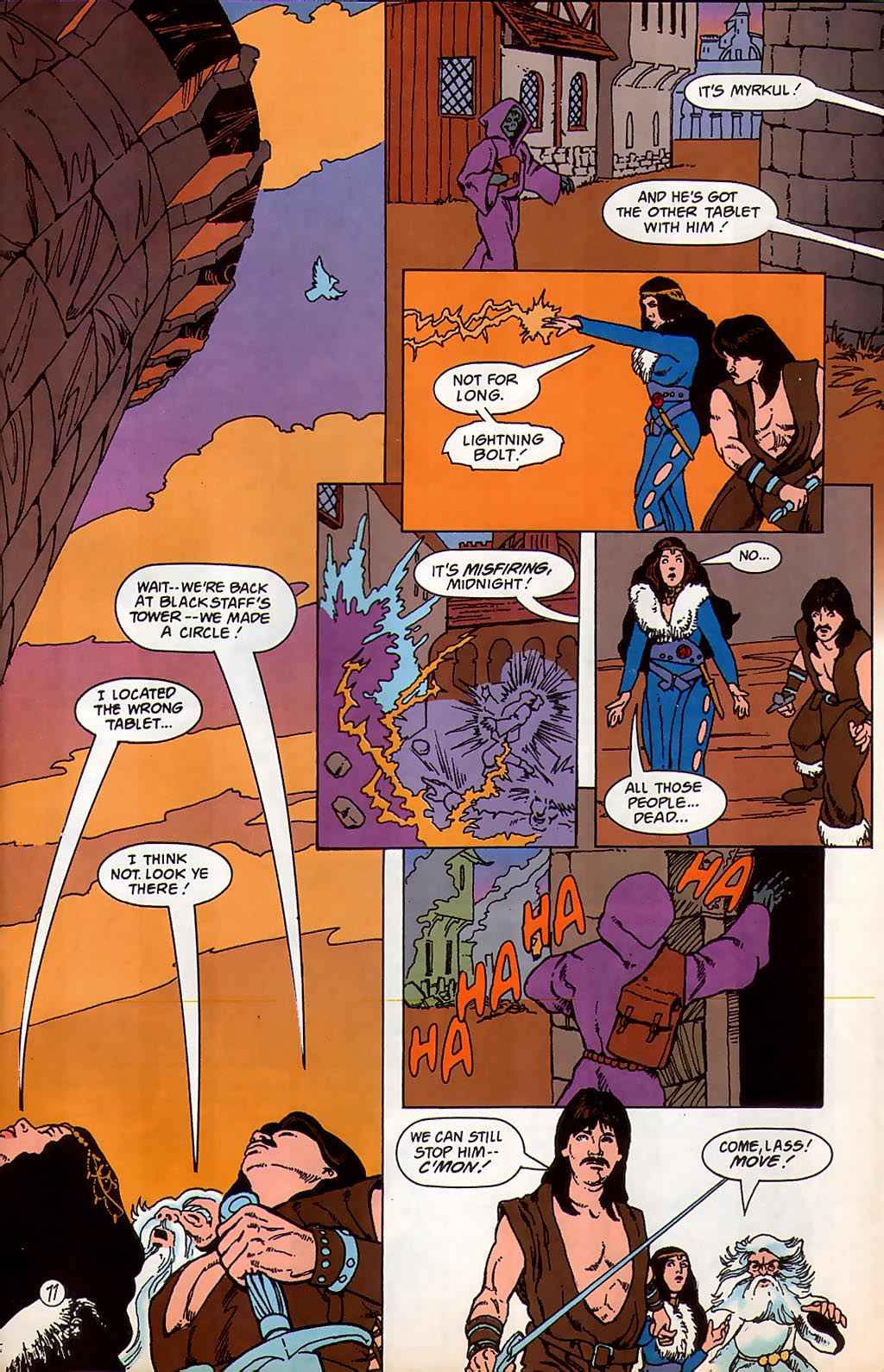 Read online Avatar comic -  Issue #3 - 78