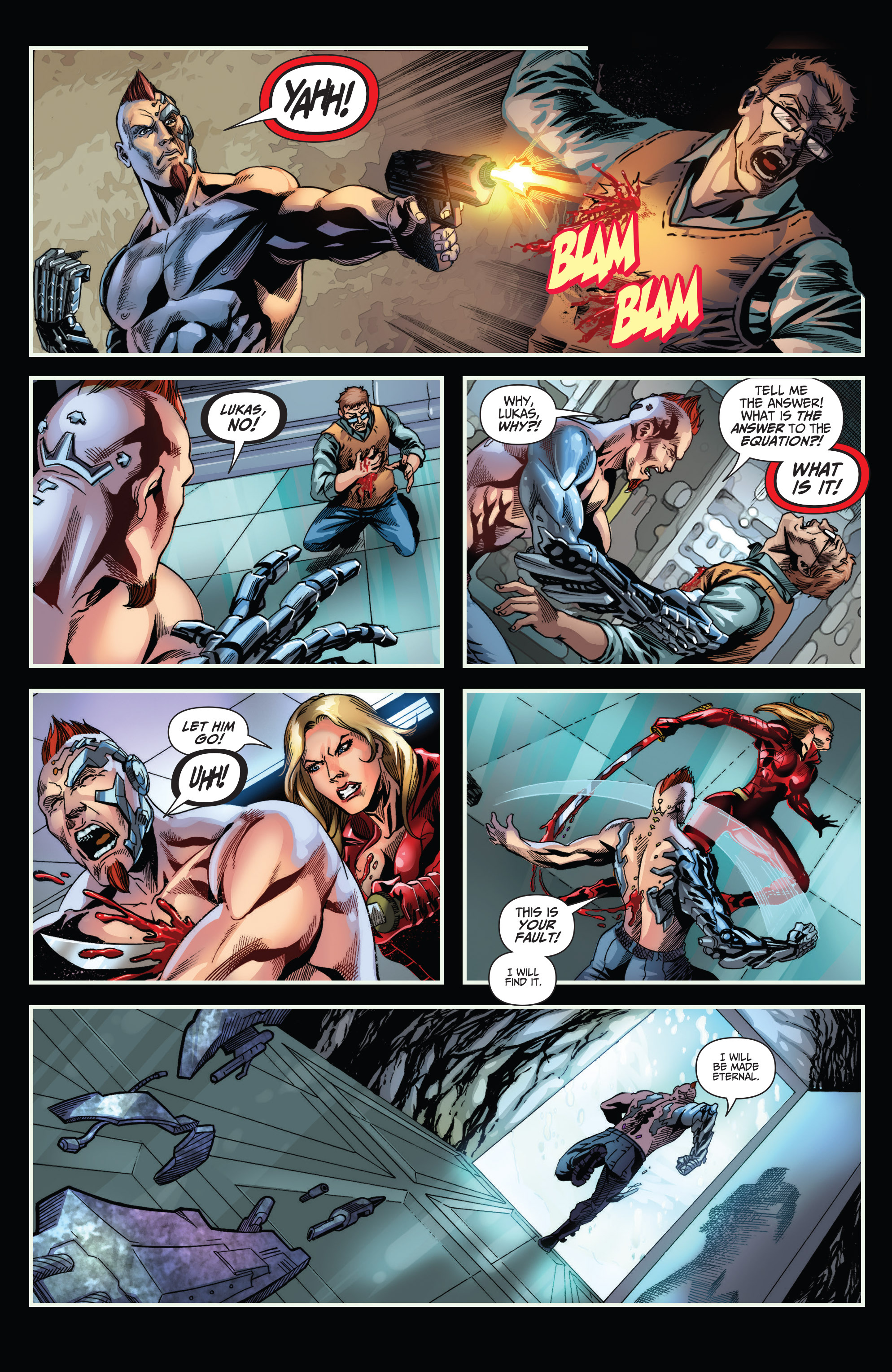Read online Grimm Fairy Tales presents Red Agent: The Human Order comic -  Issue #6 - 22