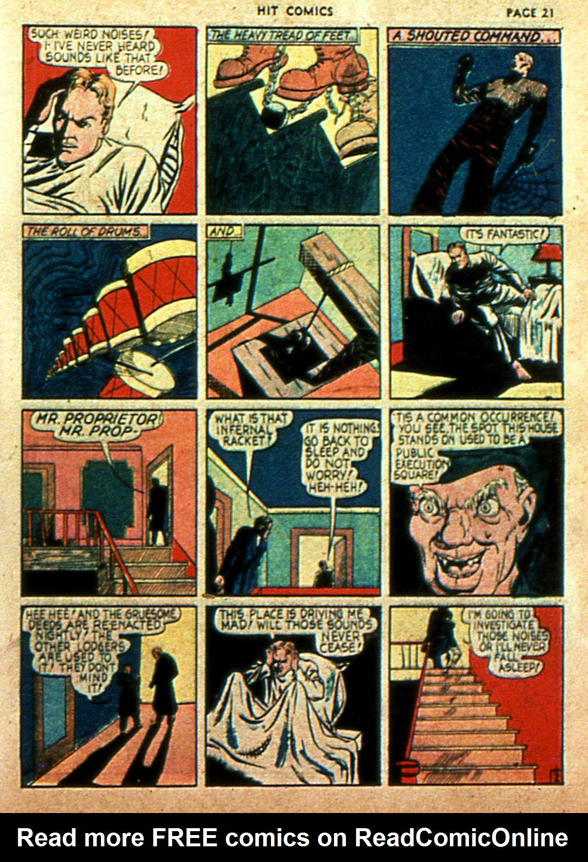 Read online Hit Comics comic -  Issue #2 - 23