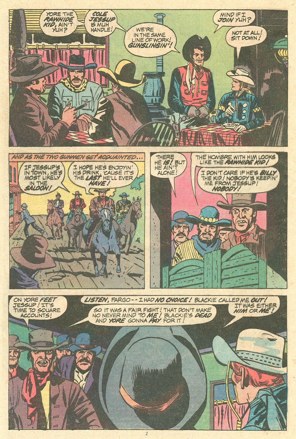 The Rawhide Kid (1955) issue 144 - Page 4