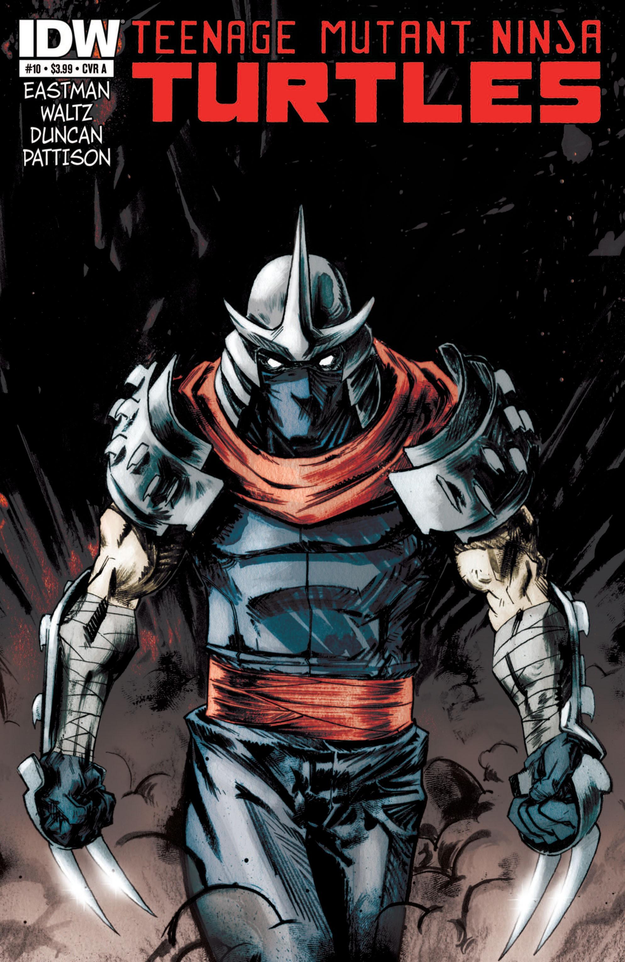 Teenage Mutant Ninja Turtles (2011) issue 10 - Page 1