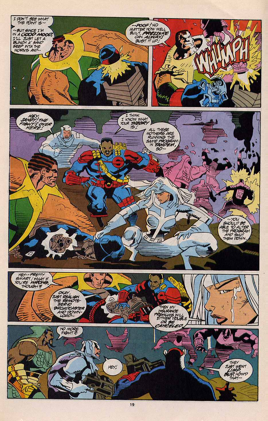 Read online Silver Sable and the Wild Pack comic -  Issue #12 - 17