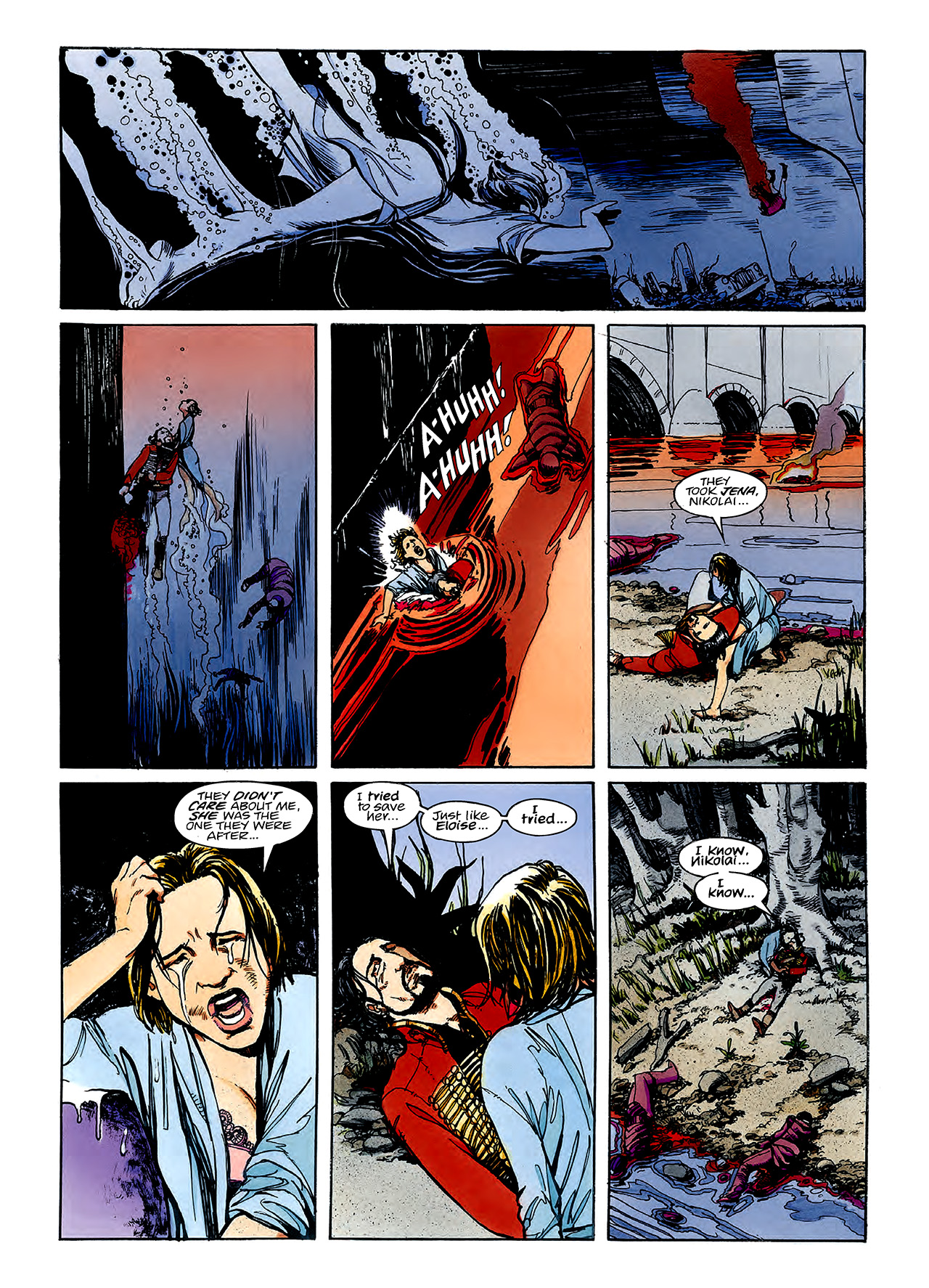 Read online Nikolai Dante comic -  Issue # TPB 3 - 81