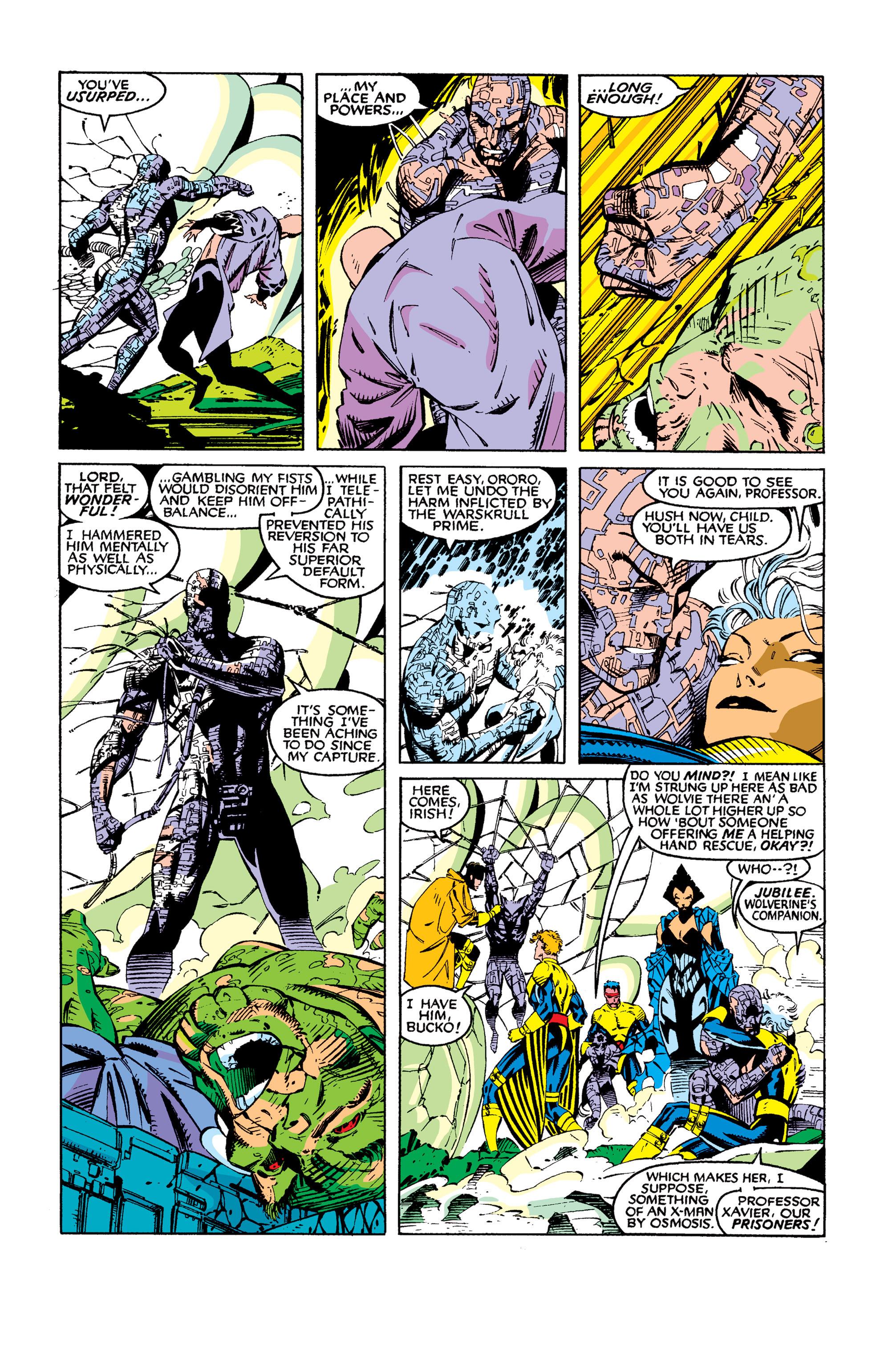Read online Uncanny X-Men (1963) comic -  Issue #277 - 20
