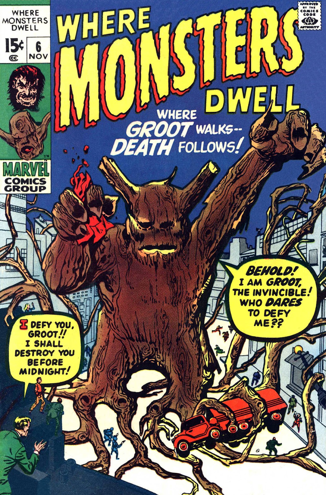 Where Monsters Dwell (1970) issue 6 - Page 1