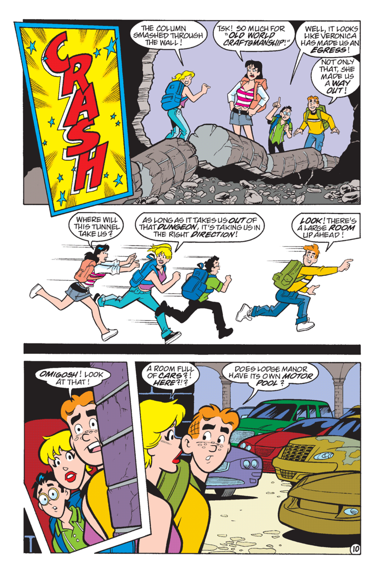Read online Archie's Weird Mysteries comic -  Issue #24 - 11