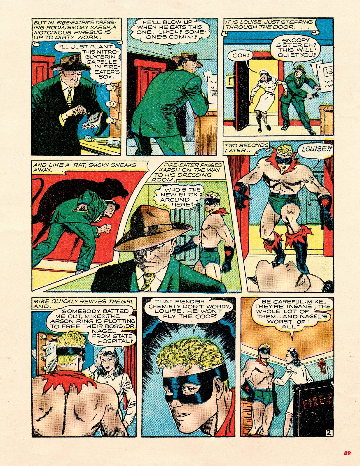 Read online Super Weird Heroes comic -  Issue # TPB 2 (Part 1) - 89