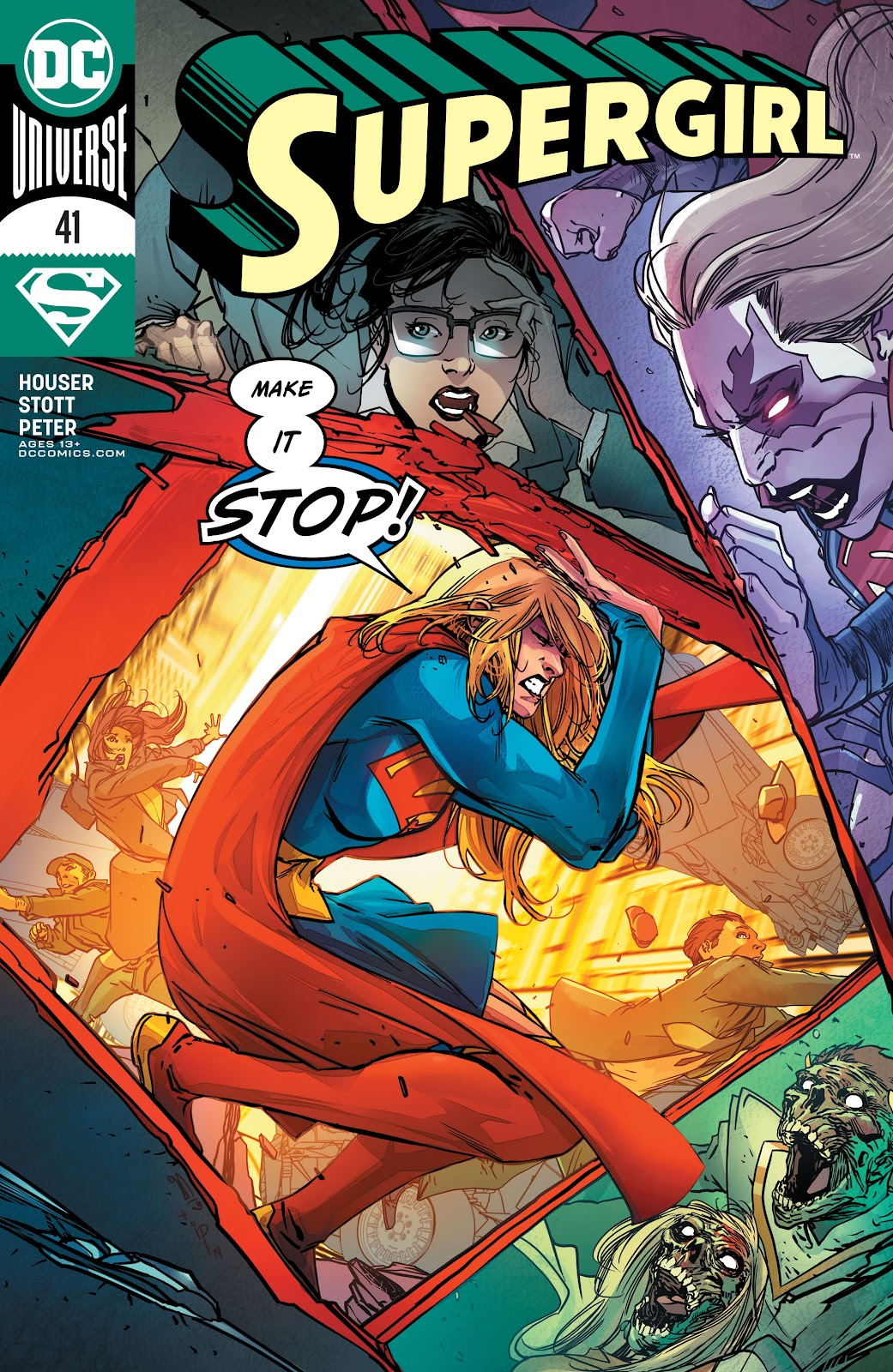 Read online Supergirl (2016) comic -  Issue #41 - 1