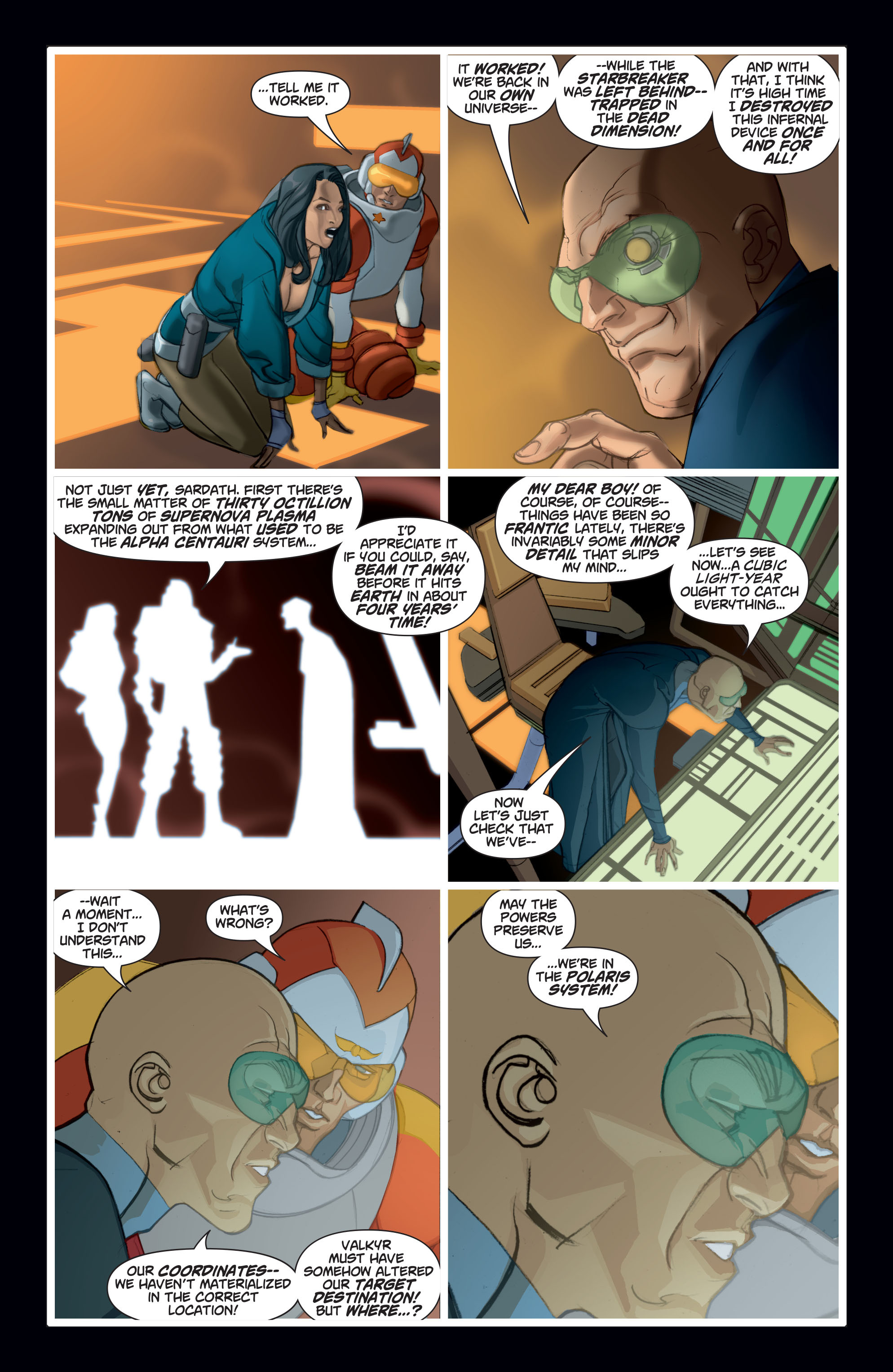 Read online Adam Strange (2004) comic -  Issue #8 - 20