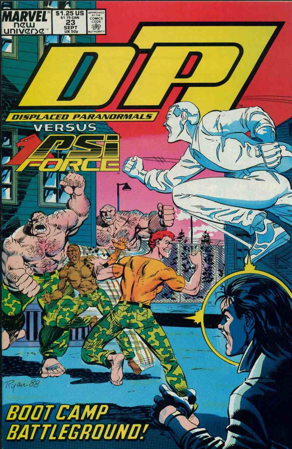 Read online DP7 comic -  Issue #23 - 1