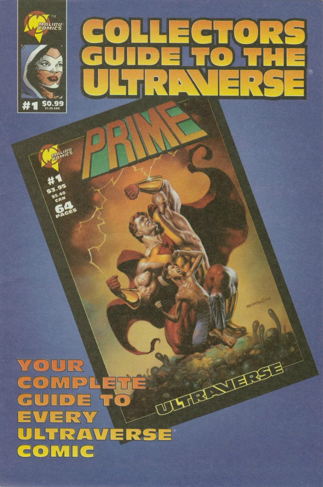 Collectors Guide to the Ultraverse Full Page 1
