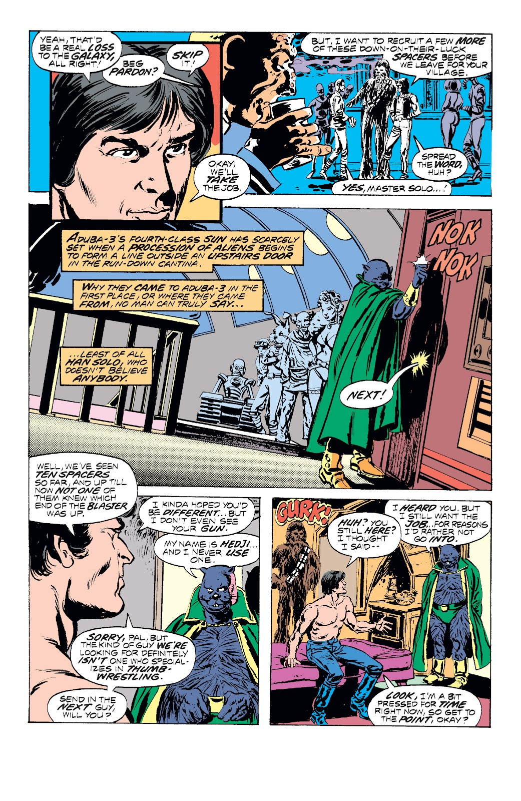 Read online Star Wars Legends: The Original Marvel Years - Epic Collection comic -  Issue # TPB 1 (Part 2) - 42