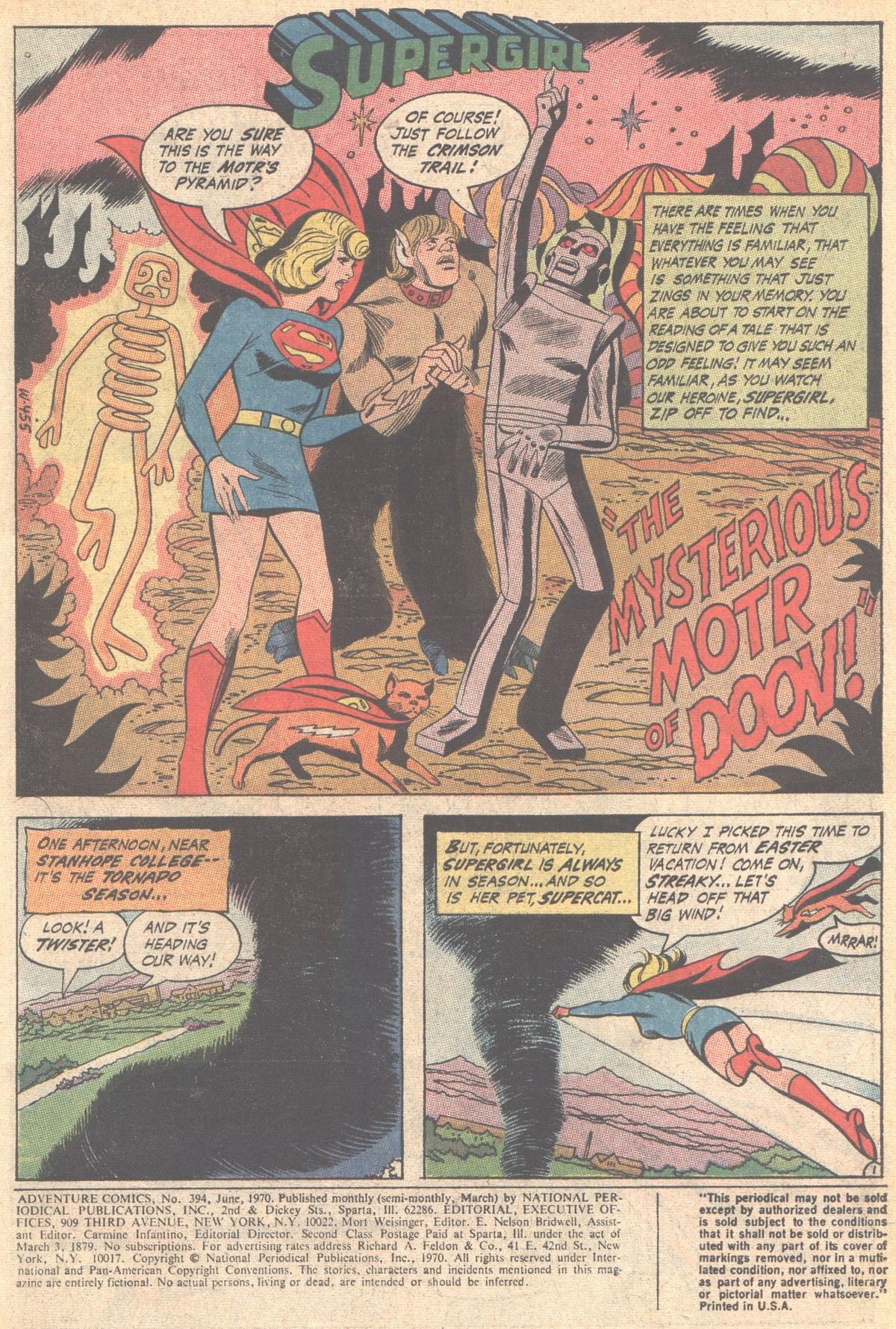 Read online Adventure Comics (1938) comic -  Issue #394 - 3