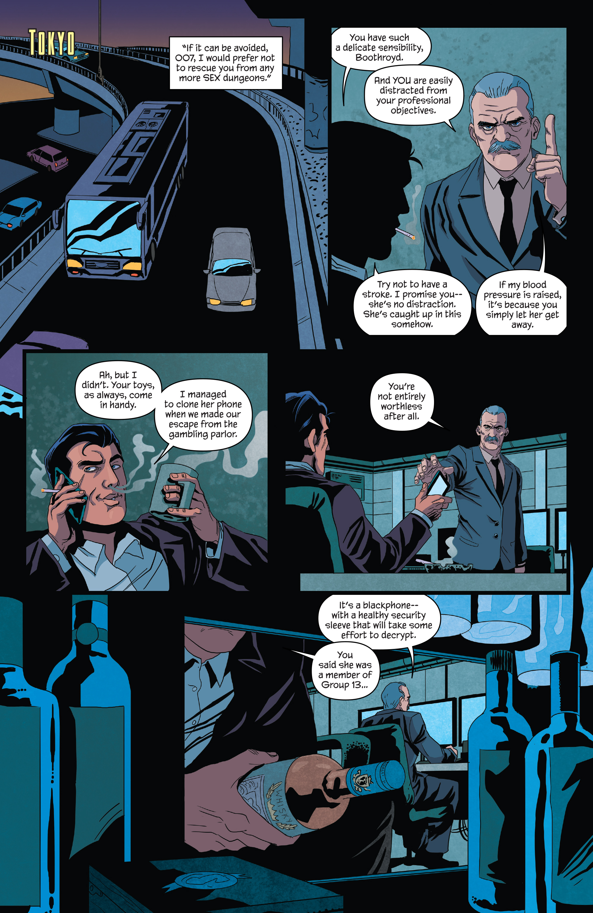 Read online James Bond (2017) comic -  Issue #3 - 7