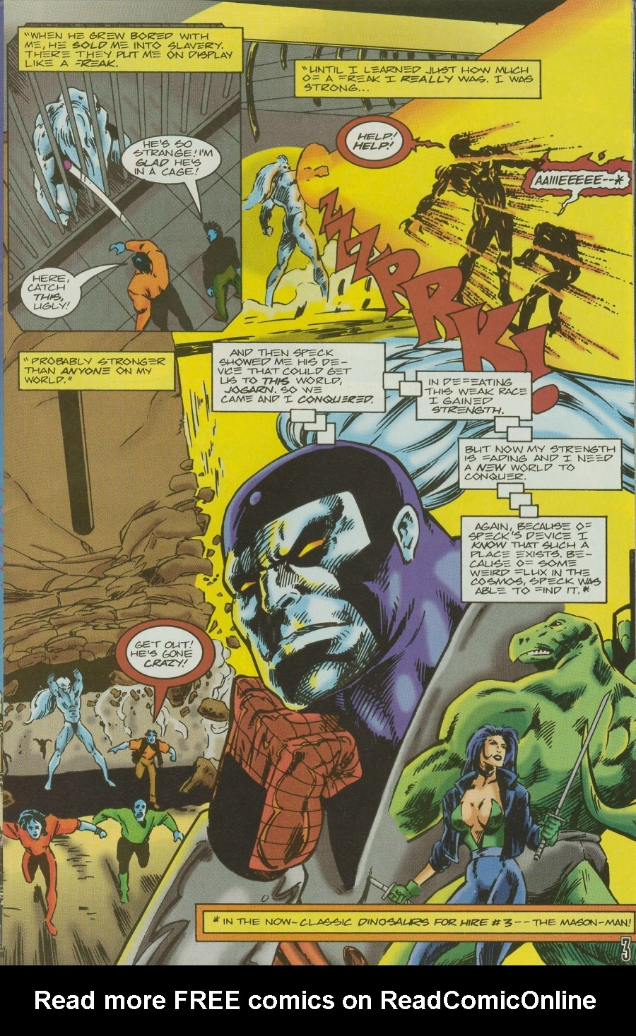 Read online Ex-Mutants comic -  Issue #11 - 5