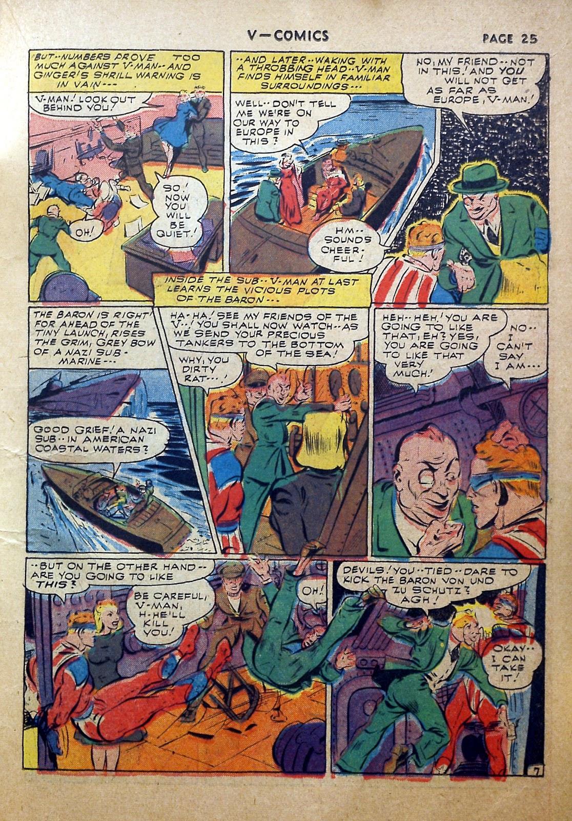 Read online V...- Comics comic -  Issue #2 - 26