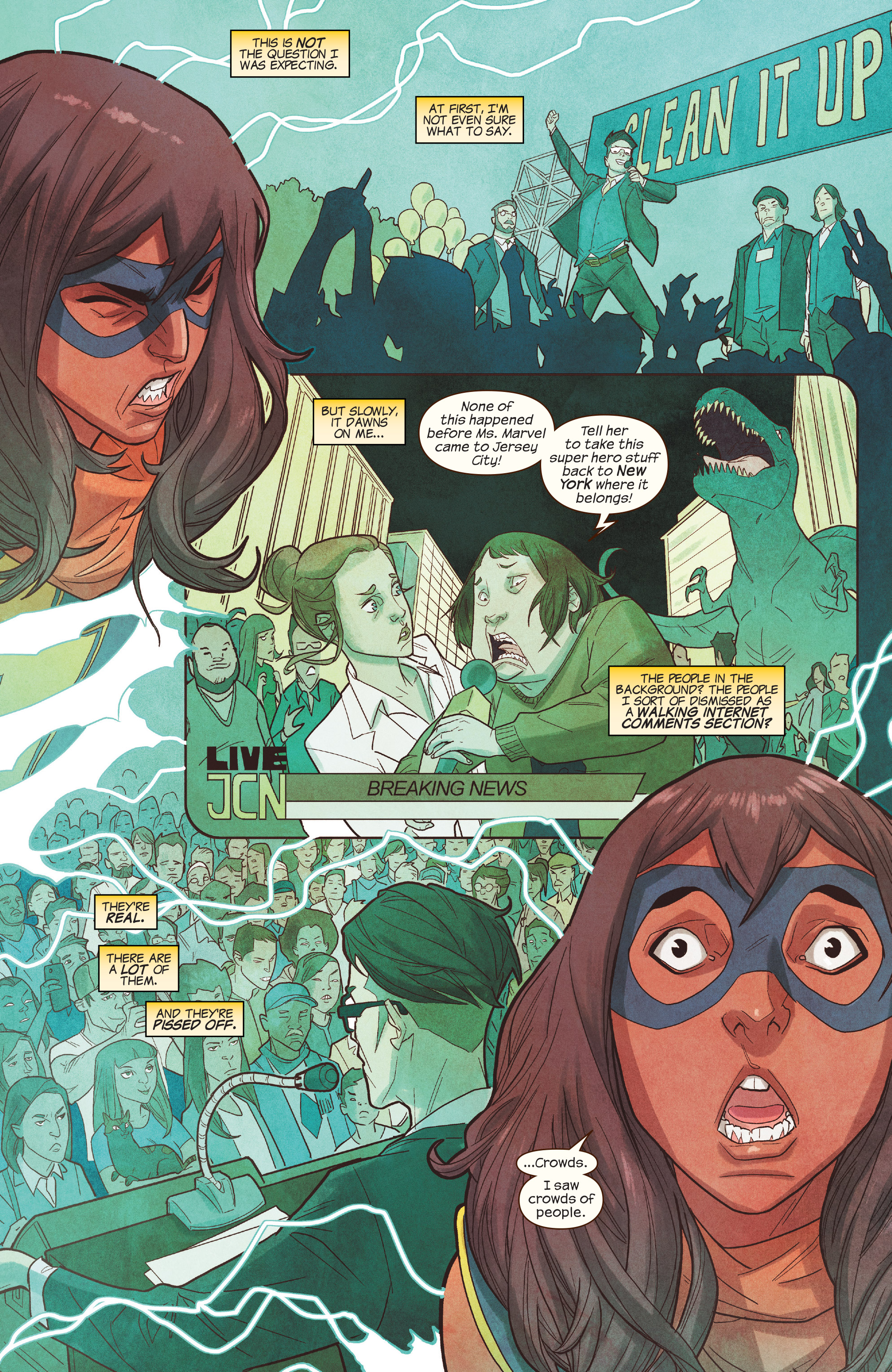 Read online Ms. Marvel (2016) comic -  Issue #19 - 19