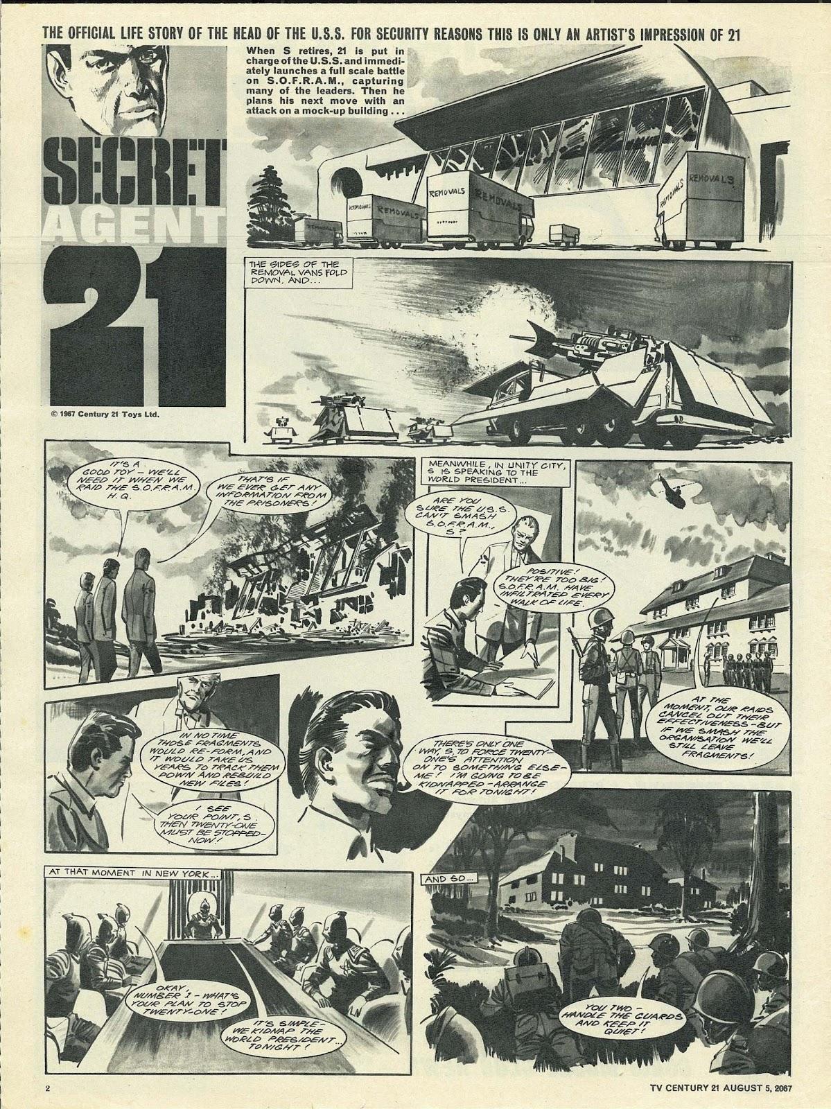 TV Century 21 (TV 21) 133 Page 2