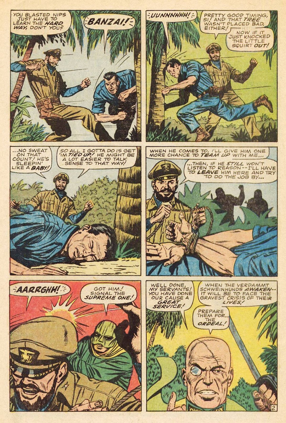 Captain Savage and his Leatherneck Raiders issue 3 - Page 4
