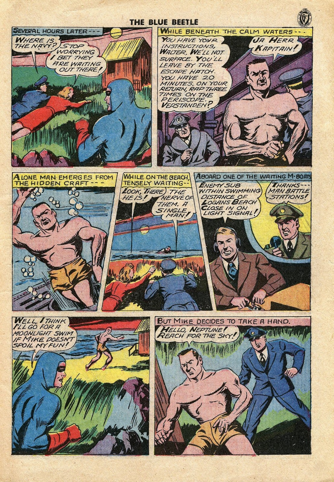 The Blue Beetle issue 34 - Page 10