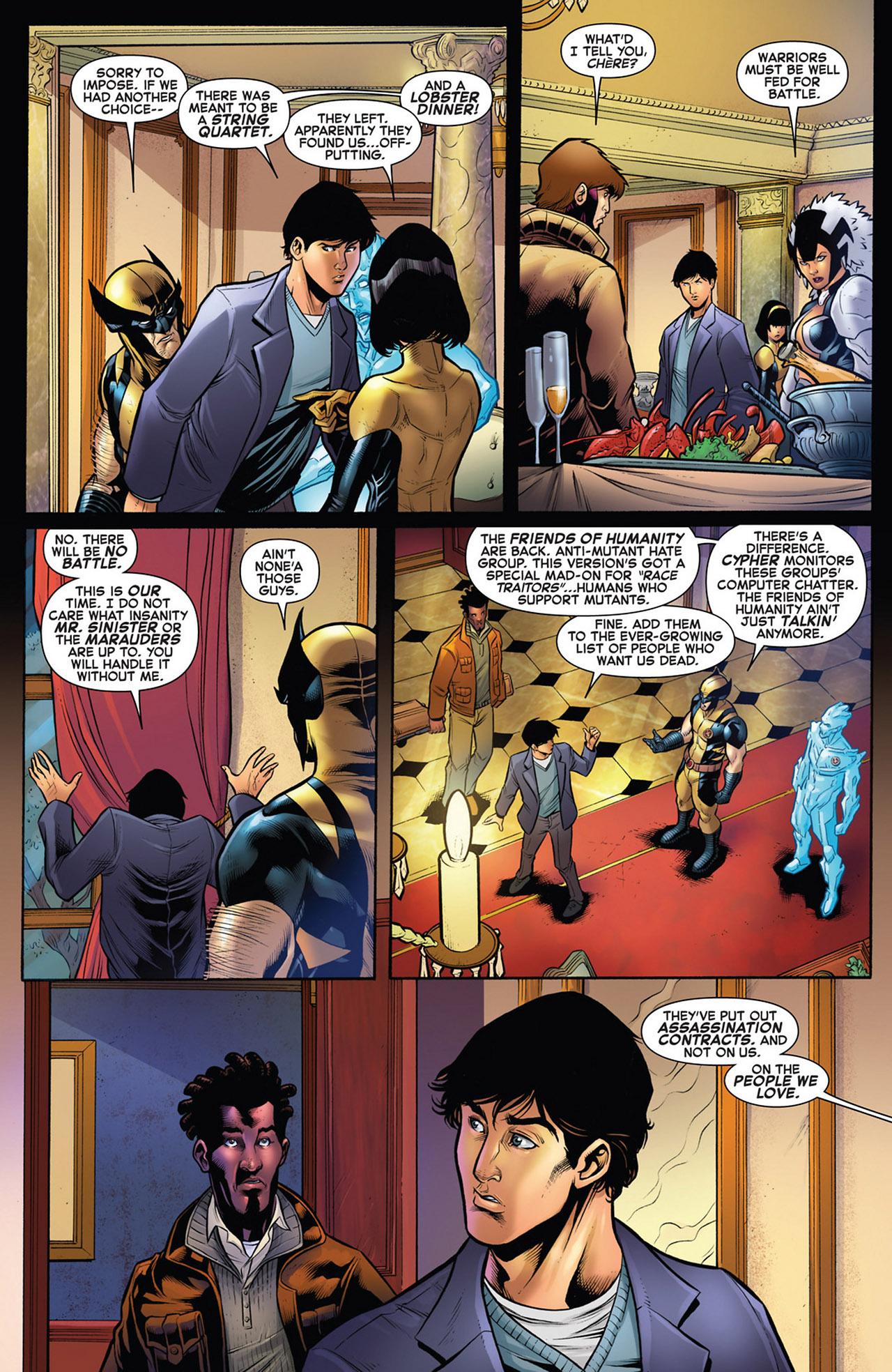 Read online Astonishing X-Men (2004) comic -  Issue # _Annual 1 - 40