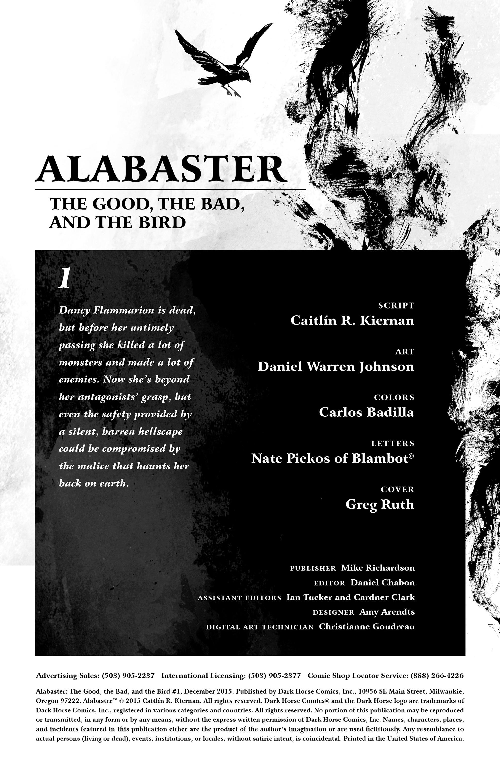Read online Alabaster: The Good, the Bad and the Bird comic -  Issue #1 - 2