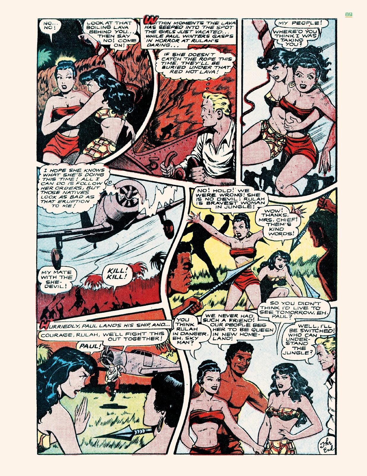 Read online Jungle Girls comic -  Issue # TPB (Part 1) - 89