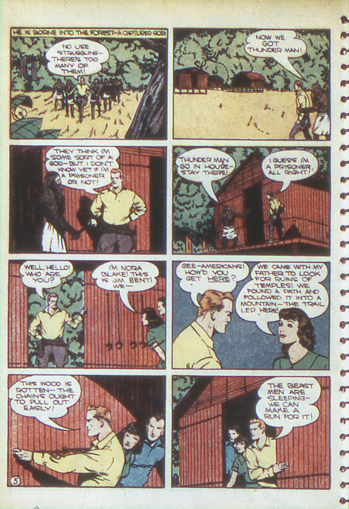 Read online Adventure Comics (1938) comic -  Issue #54 - 37