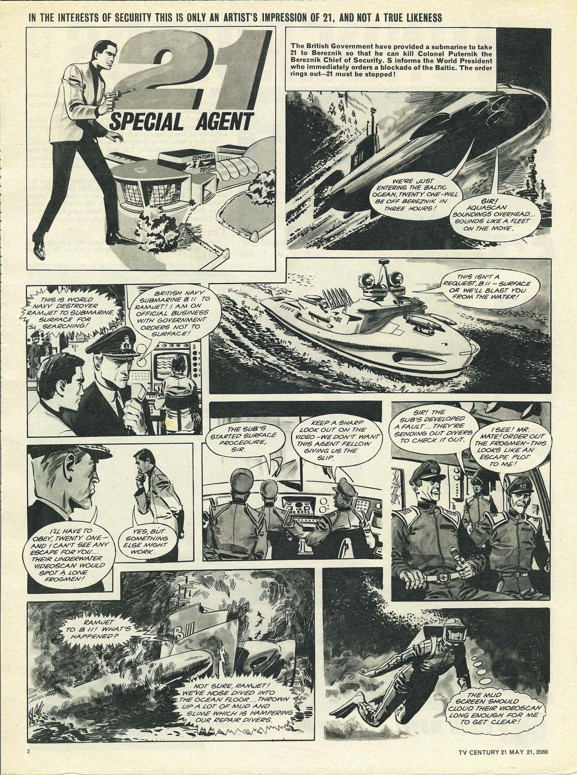 Read online TV Century 21 (TV 21) comic -  Issue #70 - 2