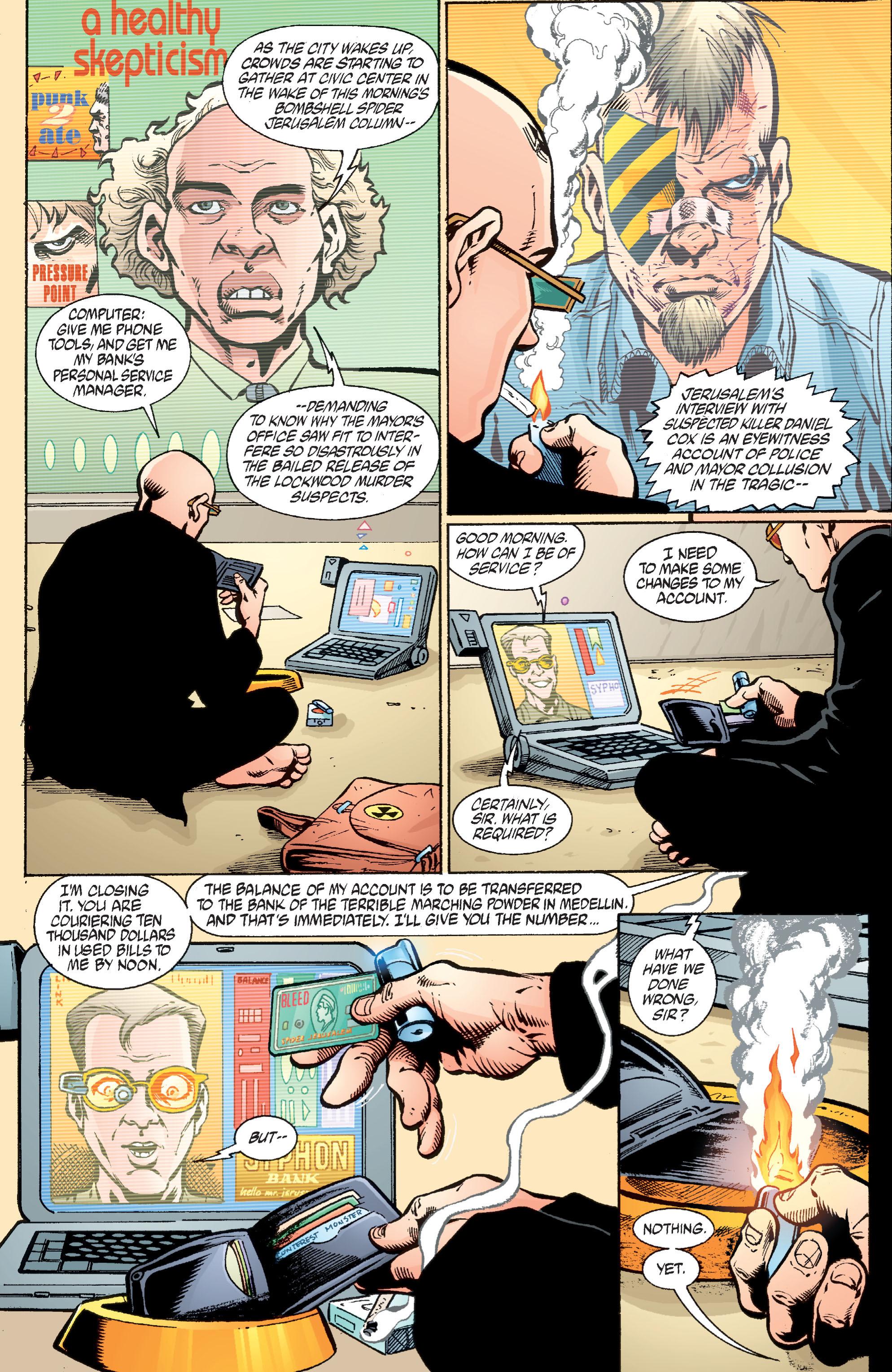 Read online Transmetropolitan comic -  Issue #36 - 10