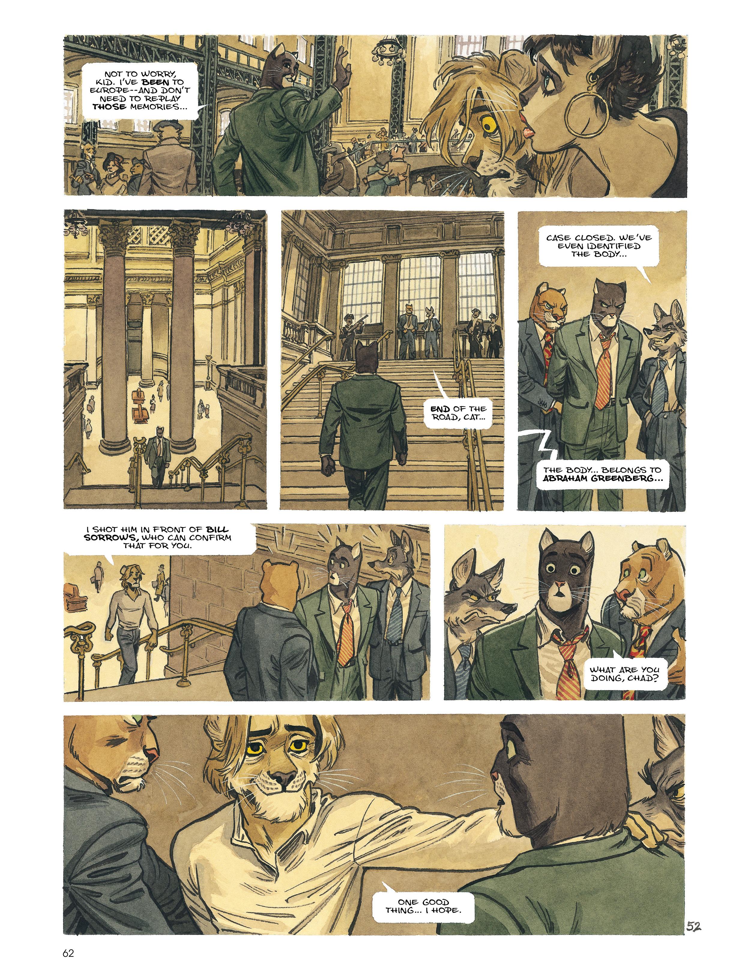 Read online Blacksad: Amarillo comic -  Issue # Full - 61