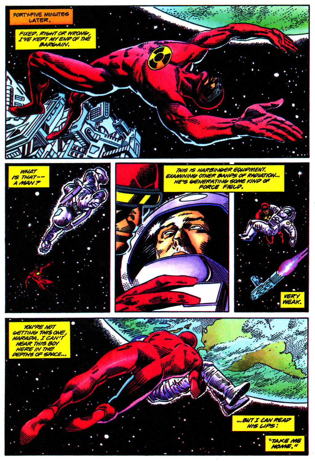 Read online Solar, Man of the Atom comic -  Issue #41 - 21
