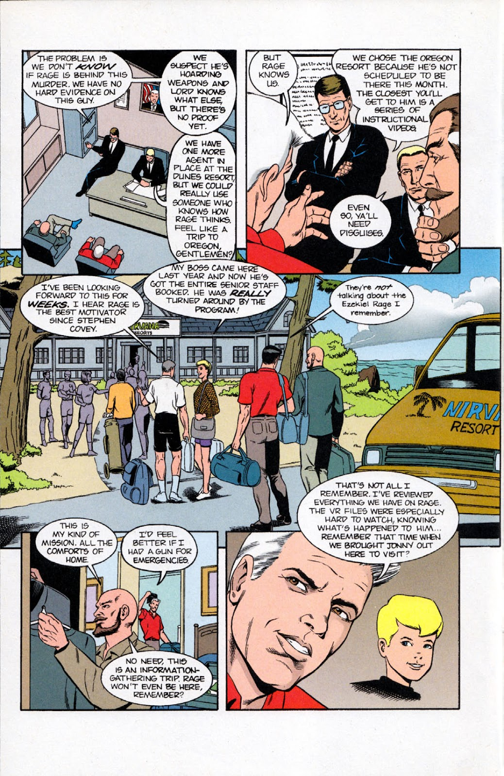 Read online The Real Adventures of Jonny Quest comic -  Issue #10 - 12