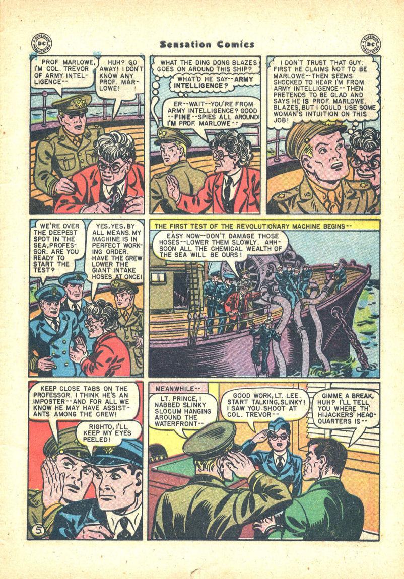 Read online Sensation (Mystery) Comics comic -  Issue #68 - 7