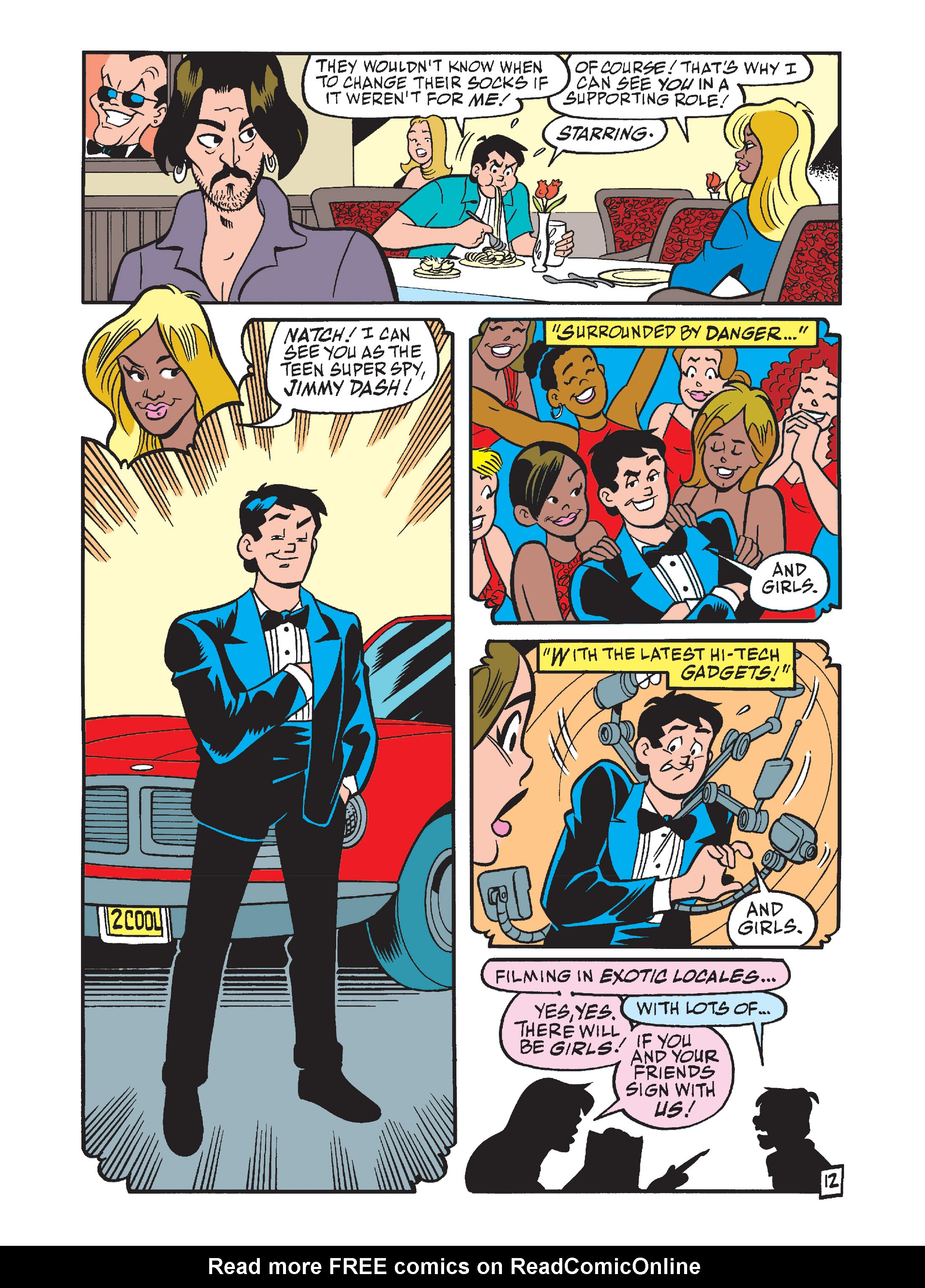 Read online Archie's Funhouse Double Digest comic -  Issue #7 - 47
