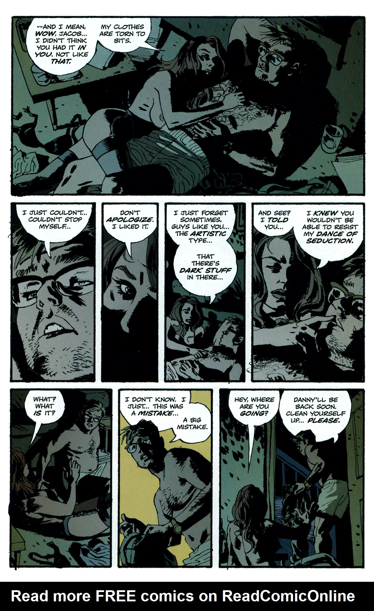 Read online Criminal (2008) comic -  Issue #5 - 17