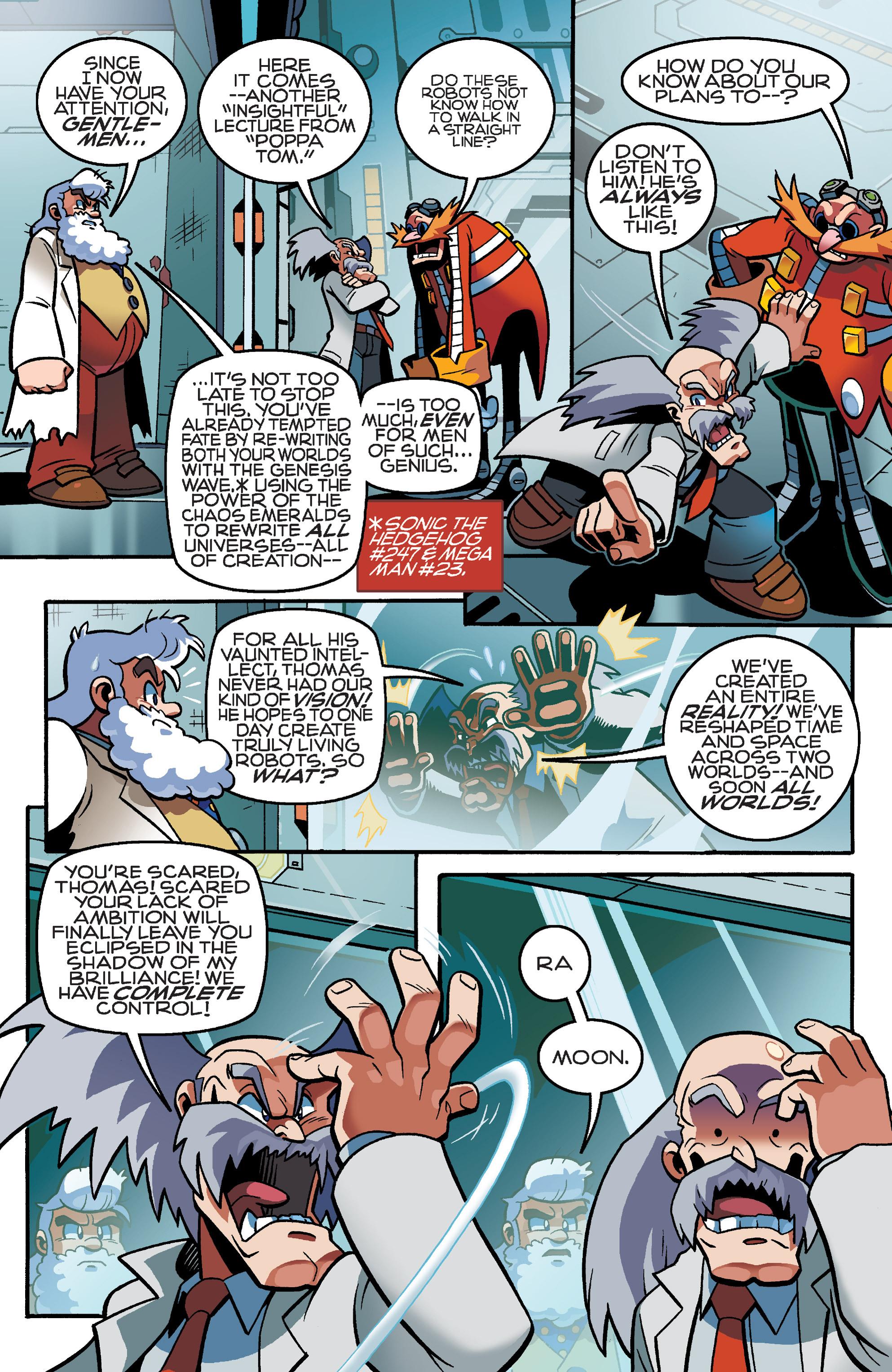 Read online Sonic Mega Man Worlds Collide comic -  Issue # Vol 3 - 16