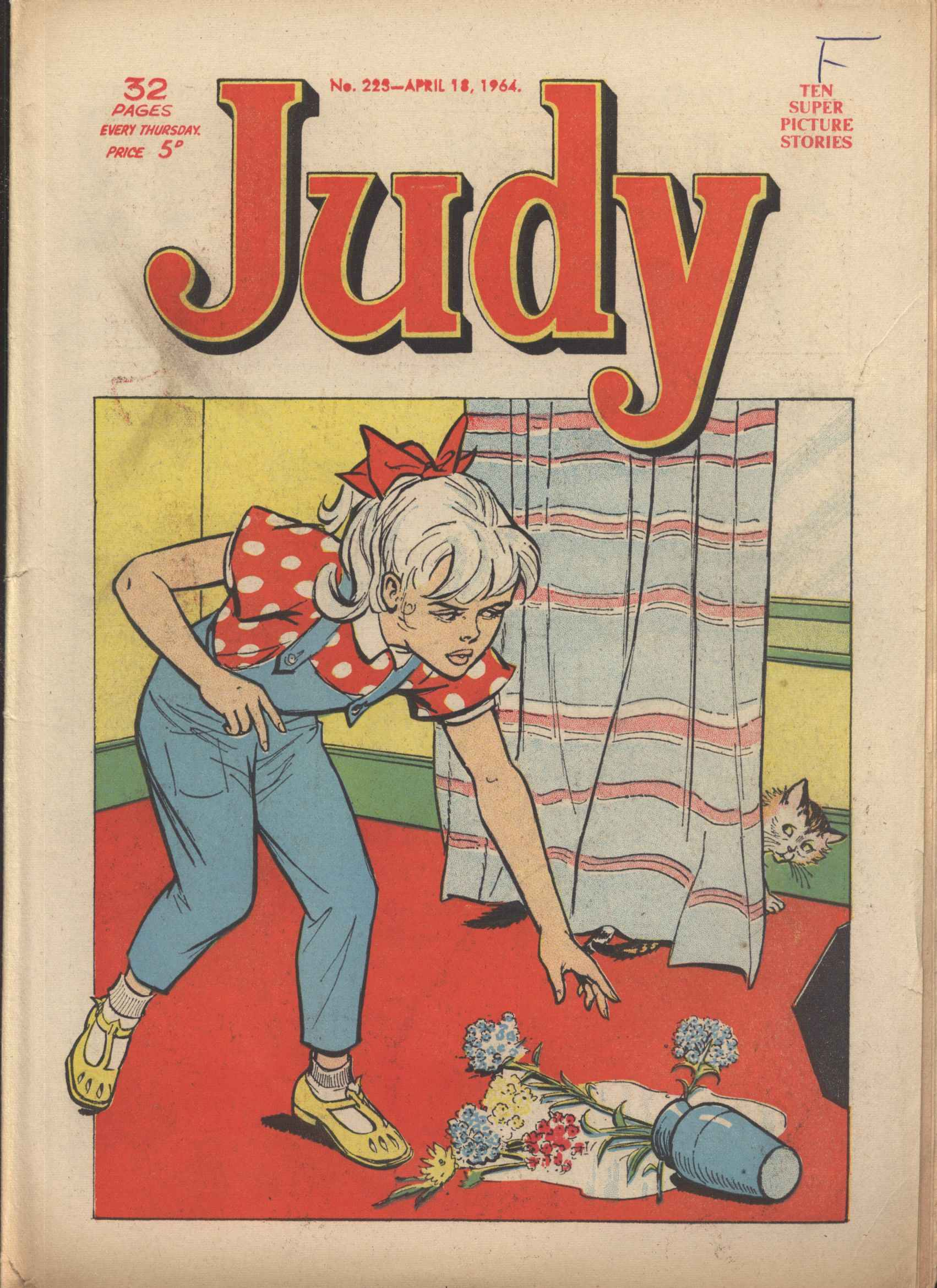 Read online Judy comic -  Issue #223 - 1
