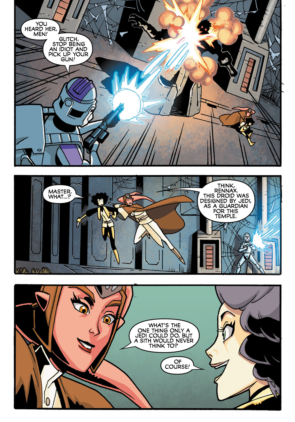 Read online Star Wars: The Clone Wars - Defenders of the Lost Temple comic -  Issue # Full - 22