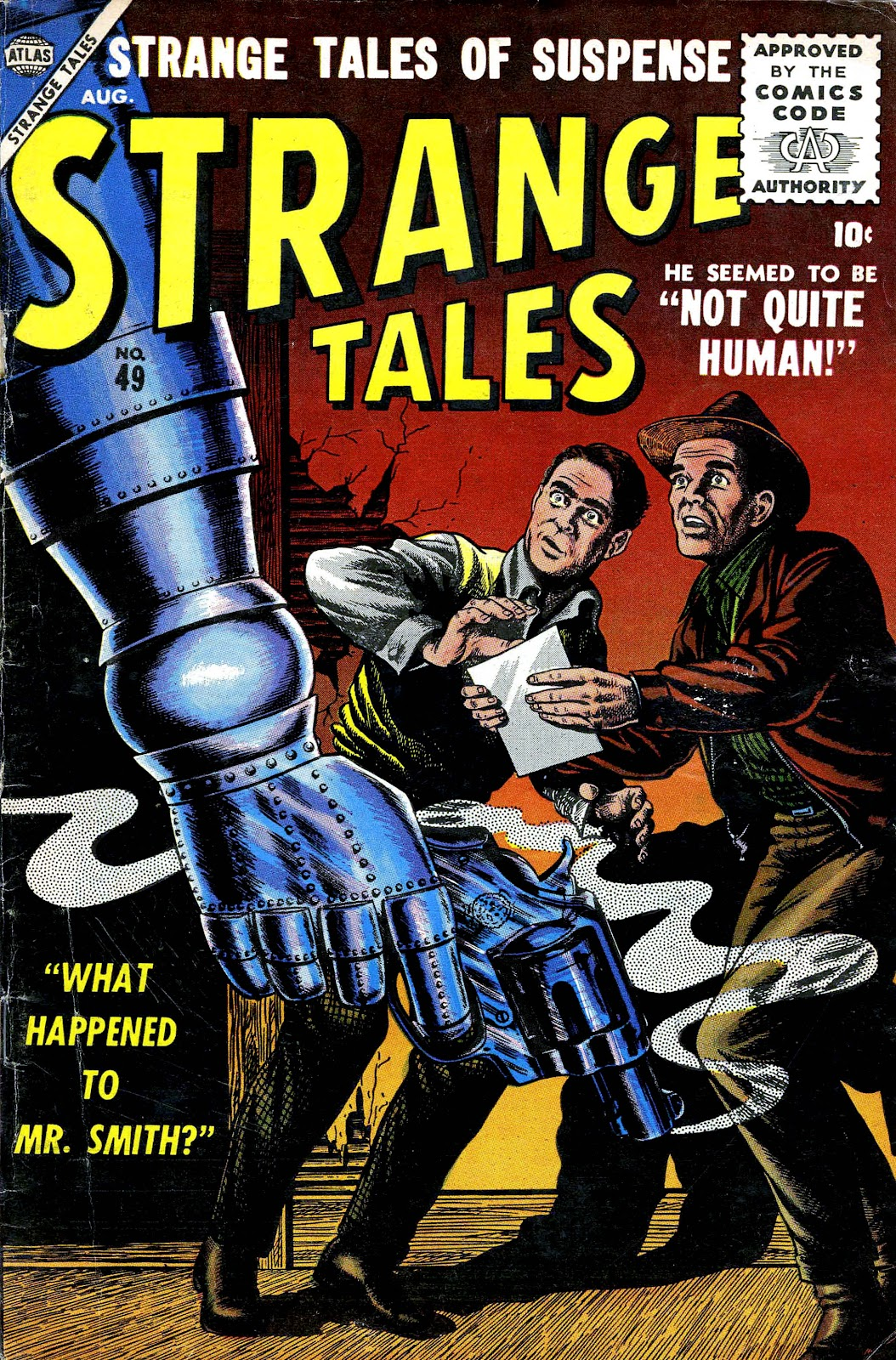 Strange Tales (1951) issue 49 - Page 1