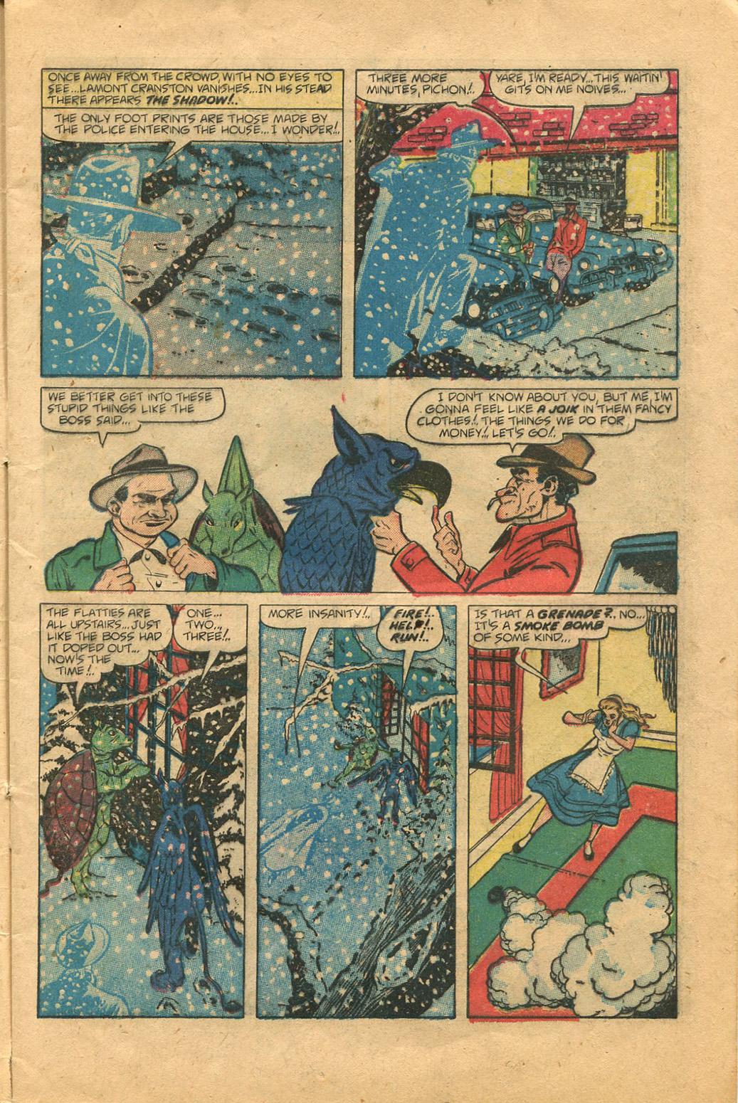 Read online Shadow Comics comic -  Issue #100 - 9