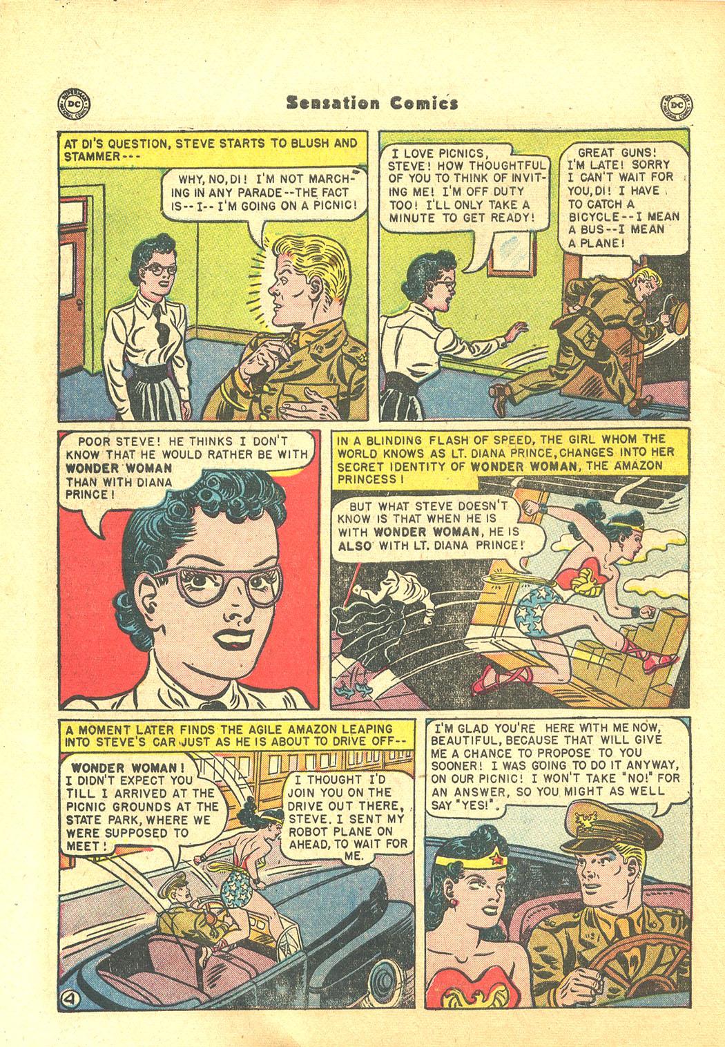 Read online Sensation (Mystery) Comics comic -  Issue #94 - 6