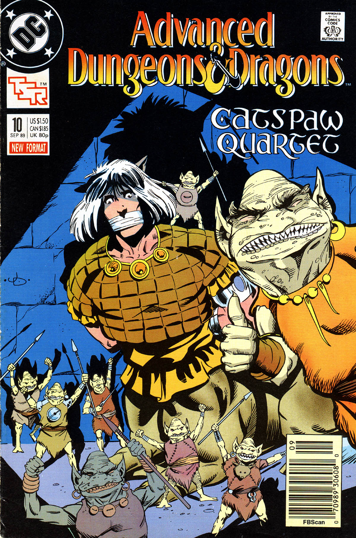 Read online Advanced Dungeons & Dragons comic -  Issue #10 - 1