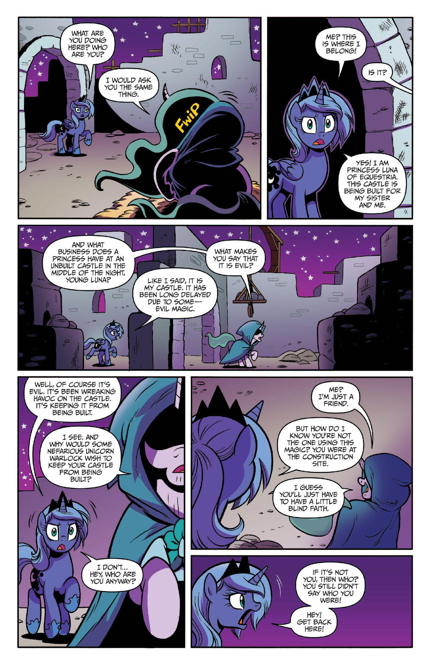 Read online My Little Pony: Legends of Magic comic -  Issue #3 - 10