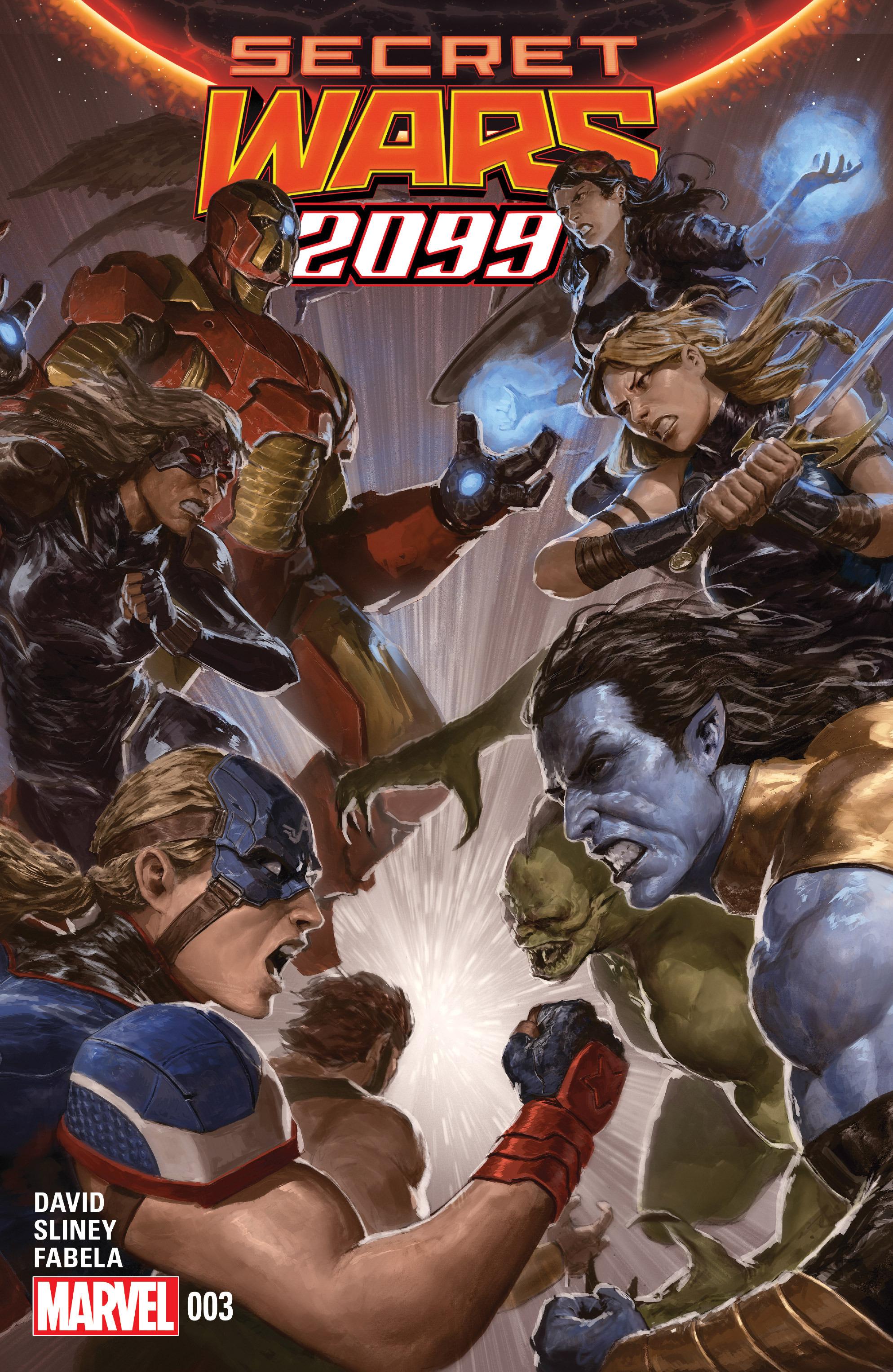 Read online Secret Wars 2099 comic -  Issue #3 - 1