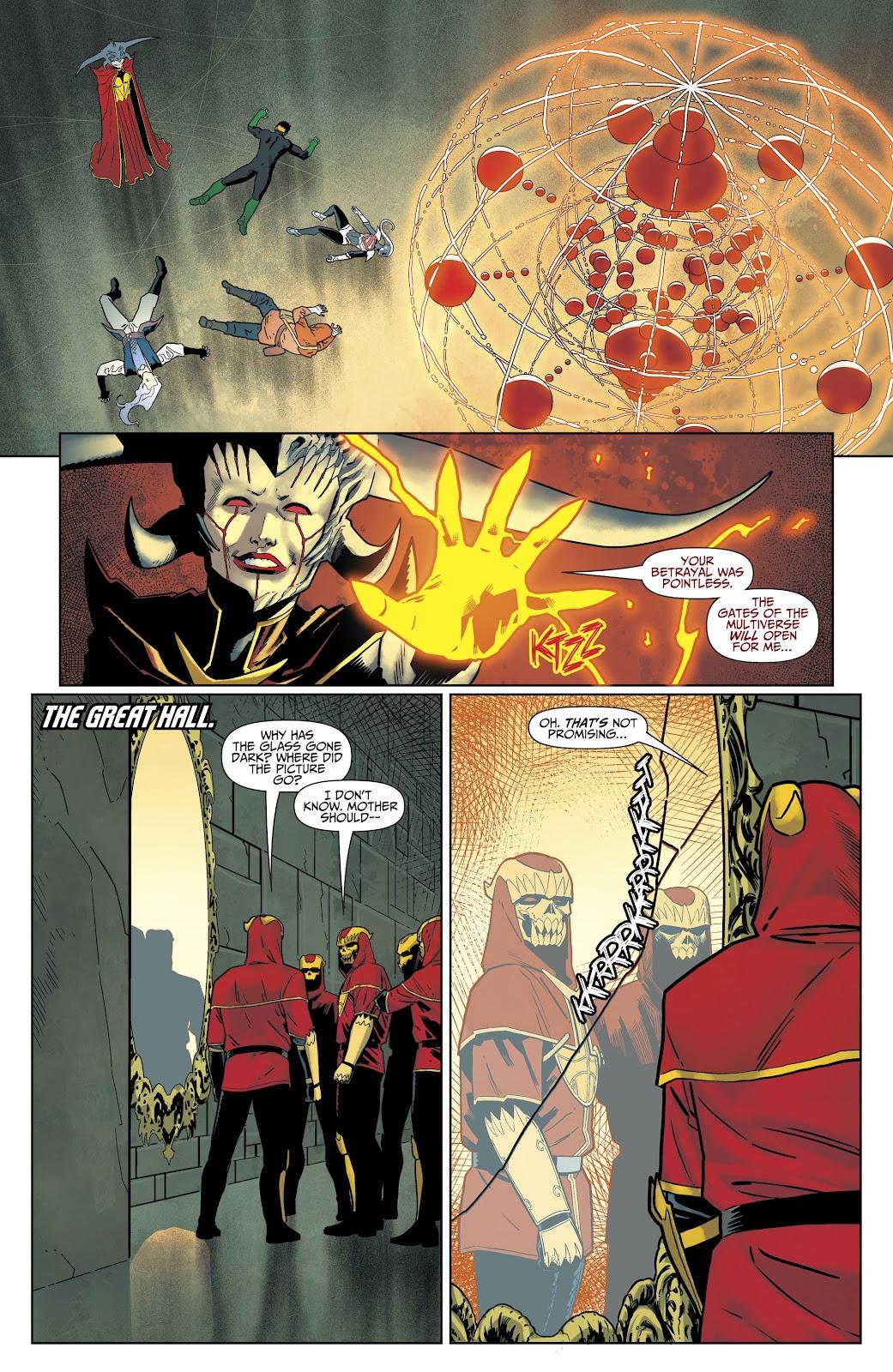 Read online Titans (2016) comic -  Issue #35 - 21