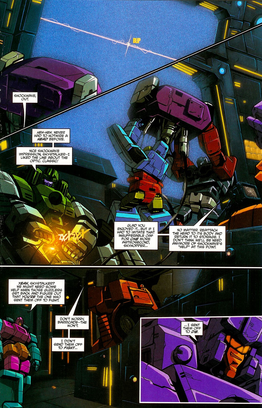 Read online Transformers: Micromasters comic -  Issue #4 - 7